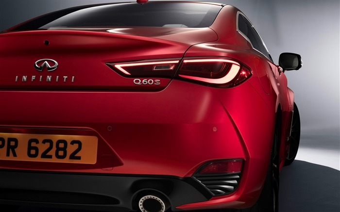 2017 Red Infiniti Q60 Series Auto HD Wallpaper 05 Views:1354