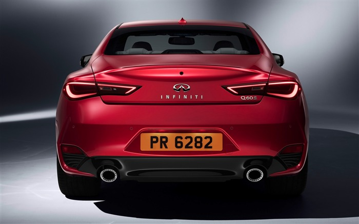 2017 Red Infiniti Q60 Series Auto HD Wallpaper 06 Views:1301