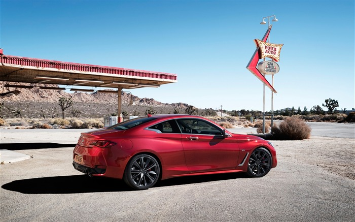 2017 Red Infiniti Q60 Series Auto HD Wallpaper 09 Views:1316