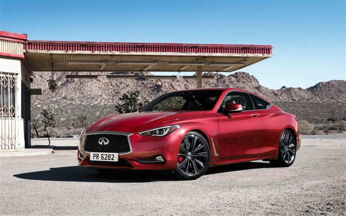 2017 Red Infiniti Q60 Series Auto HD Wallpaper 10 Views:1534