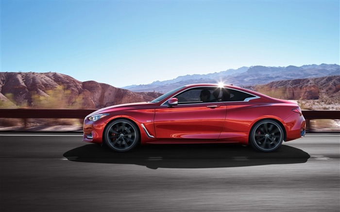 2017 Red Infiniti Q60 Series Auto HD Wallpaper 11 Views:1370