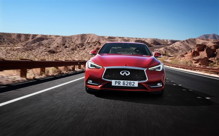 2017 Red Infiniti Q60 Series Auto HD Wallpaper 12 Views:1306