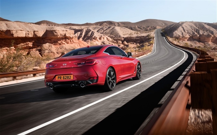 2017 Red Infiniti Q60 Series Auto HD Wallpaper 13 Views:1476