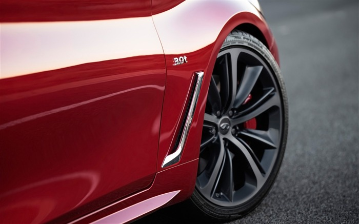 2017 Red Infiniti Q60 Series Auto HD Wallpaper 18 Views:864