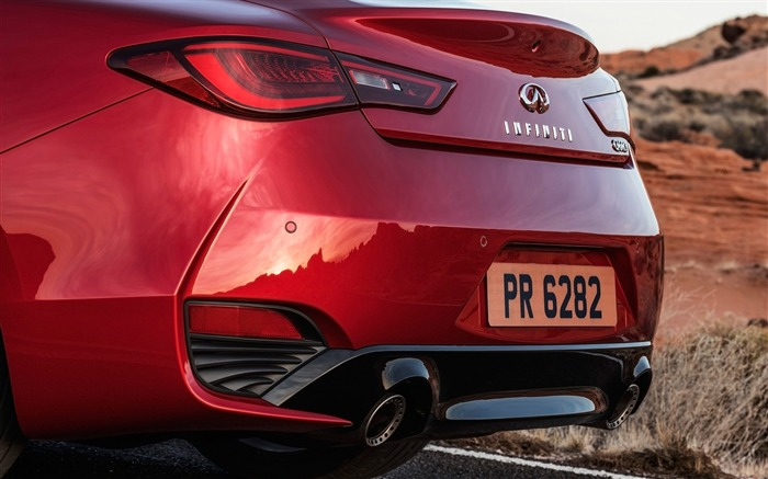 2017 Red Infiniti Q60 Series Auto HD Wallpaper 19 Views:956