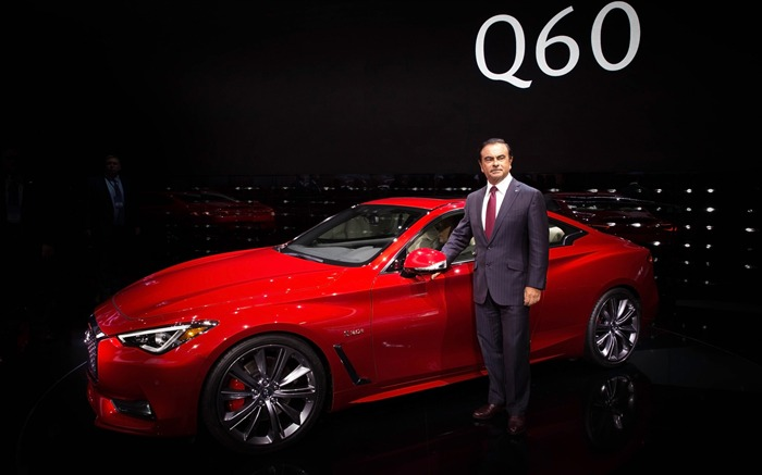 2017 Red Infiniti Q60 Series Auto HD Wallpaper 20 Views:779