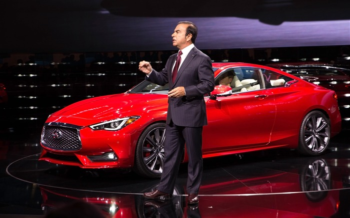 2017 Red Infiniti Q60 Series Auto HD Wallpaper 21 Views:683