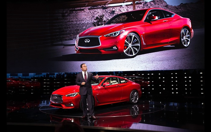 2017 Red Infiniti Q60 Series Auto HD Wallpaper 22 Views:733