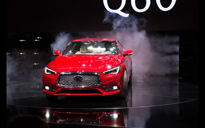 2017 Red Infiniti Q60 Series Auto HD Wallpaper 23 Views:752