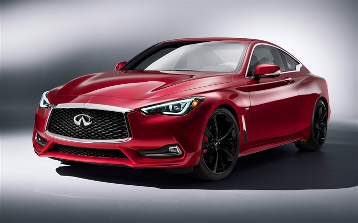 2017 Red Infiniti Q60 Series Auto HD Wallpaper Views:5059