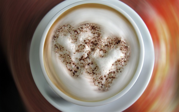 Coffee cappuccino foam-photography HD wallpaper Views:1826