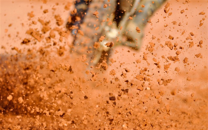 Dust dirt splashing speed-photography HD wallpaper Views:1831