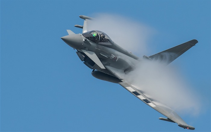 Eurofighter typhoon fighter plane-High Quality HD Wallpaper Views:2203