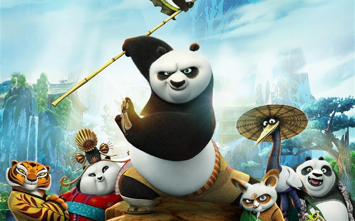 Kung Fu Panda 3 Movie 2016-High Quality HD Wallpaper Views:1216