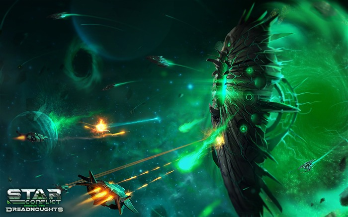Star Conflict Game Theme HD Desktop Wallpaper Views:8329