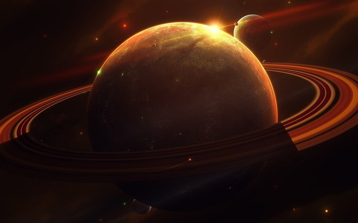 Saturn Space Planet-Universe HD Wallpaper Views:8624 Date:1/16/2016 8:44:22 AM