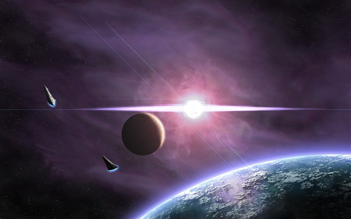 Spacecrafts Space Planet-Universe HD Wallpaper Views:2381