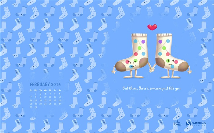There is Someone Like You-February 2016 Calendar Wallpaper Views:3811 Date:1/31/2016 8:06:30 PM