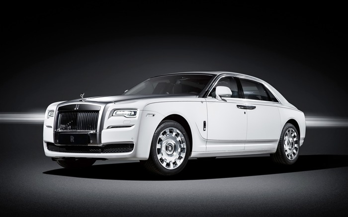 2016 Rolls Royce Ghost Eternal Love-Luxury Car HD Wallpaper Views:2136