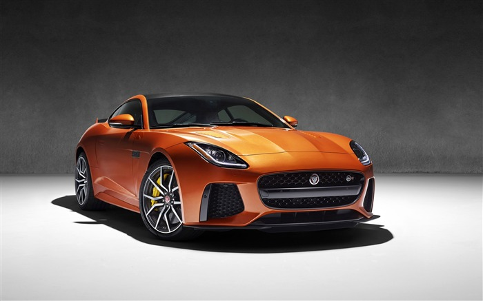2017 Jaguar f type svr-Luxury Car HD Wallpaper Views:1984