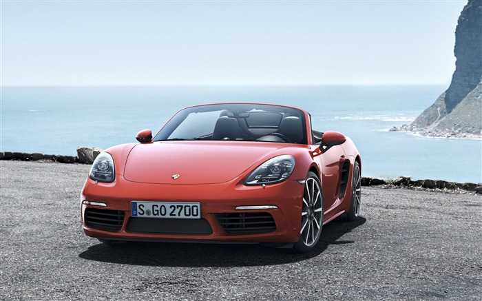 2017 Porsche 718-Luxury Car HD Wallpaper Views:2154