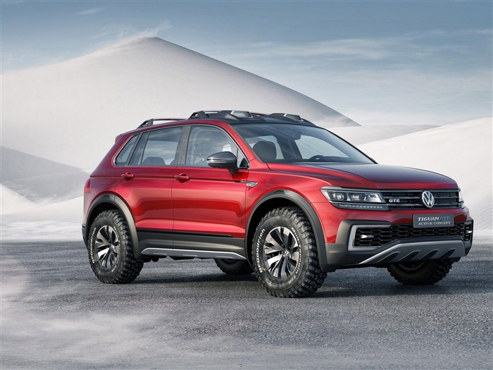 2017 Volkswagen Tiguan-Luxury Car HD Wallpaper Views:1972