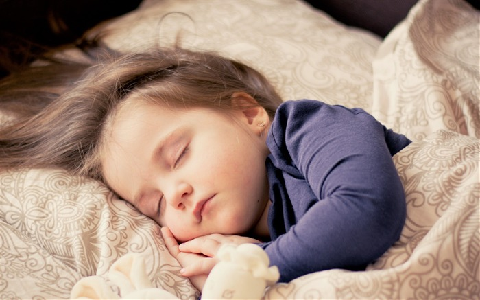 Child baby sleeping bed-High Quality HD Wallpaper Views:2039