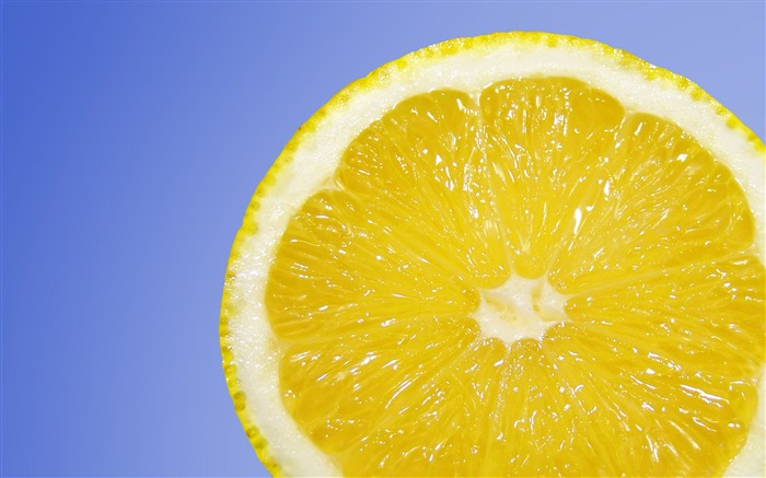 Fresh lemon fruit-High Quality HD Wallpaper Views:1726