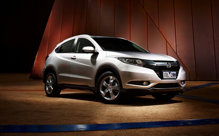 Honda HRV au spec white-High Quality HD Wallpaper Views:2010
