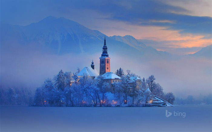 Lake Bled Slovenia-2016 Bing Desktop Wallpaper Views:2156