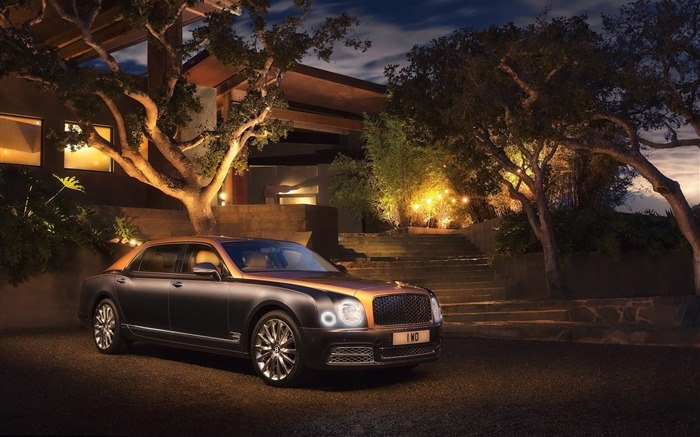 2016 Bentley Mulsanne Luxury Car HD Wallpaper Views:10185
