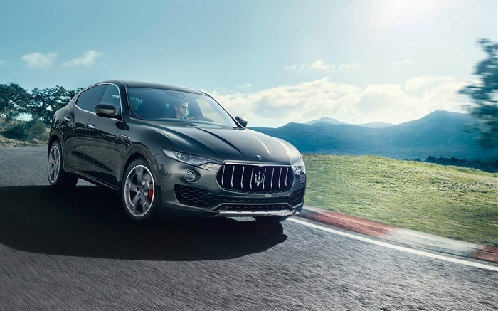 2016 Maserati Levante Luxury Car HD Wallpaper 01 Views:3058 Date:3/4/2016 8:50:07 AM