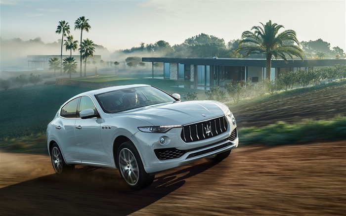 2016 Maserati Levante Luxury Car HD Wallpaper Views:4225 Date:3/4/2016 8:46:47 AM