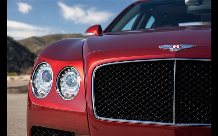2016 Red Bentley Flying Spur V8 S HD Wallpaper 03 Views:1341