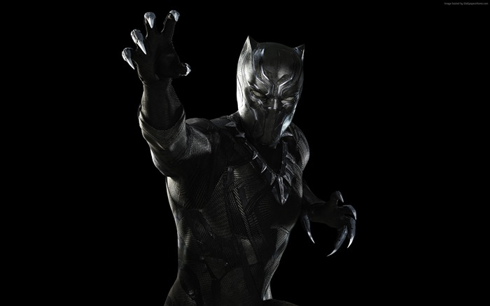 Black Panther-Captain America 3 Civil War Wallpaper Views:2143