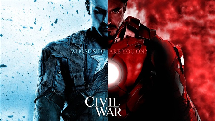 Captain America 3 Civil War 2016 Movie Posters Wallpaper Views:1066