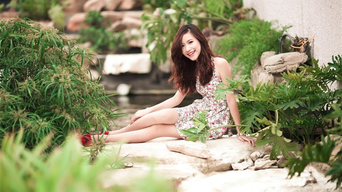 China sexy fashion beauty model photo wallpaper 11 Views:1791