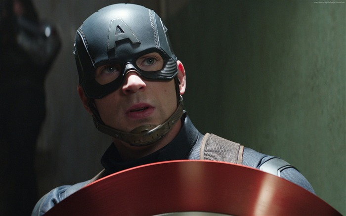 Chris Evans-Captain America 3 Civil War Wallpaper Views:1843