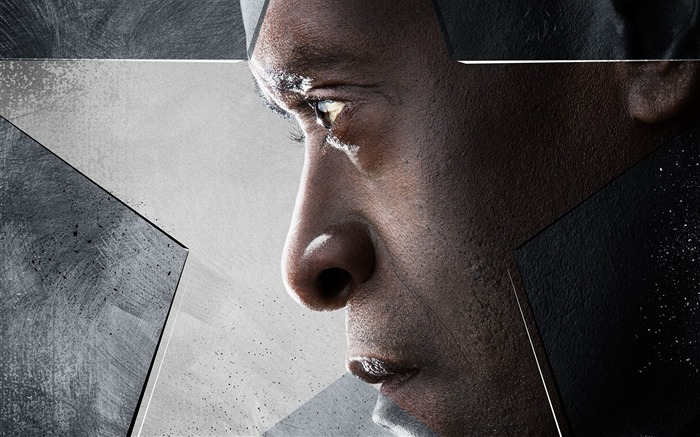 Don Cheadle-Captain America 3 Civil War Wallpaper Views:1340