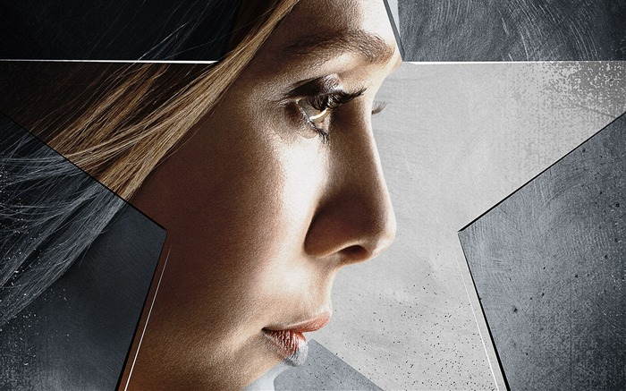 Elizabeth Olsen-Captain America 3 Civil War Wallpaper Views:2243