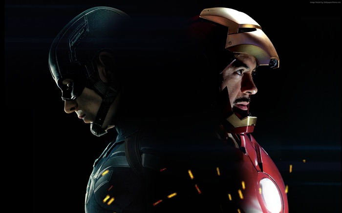 Iron Man-Captain America 3 Civil War Wallpaper Views:3708