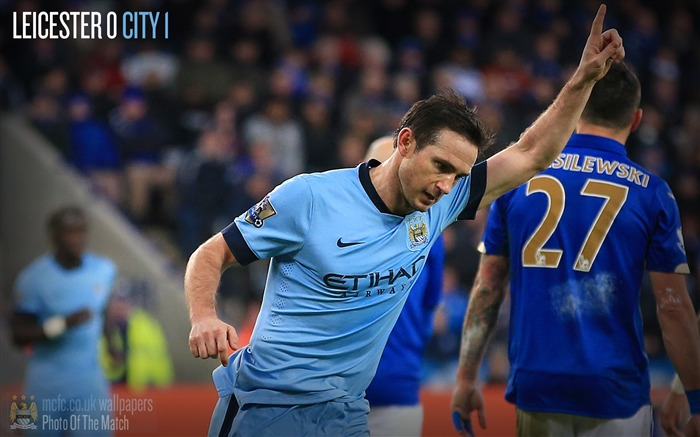 Leicester 0-1 Manchester City-2016 Football Club Wallpaper Views:1979