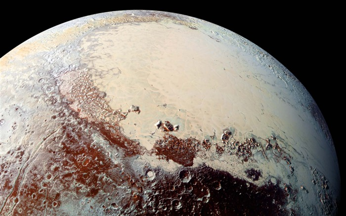 Pluto New Horizons-Universe Desktop Wallpaper Views:1777