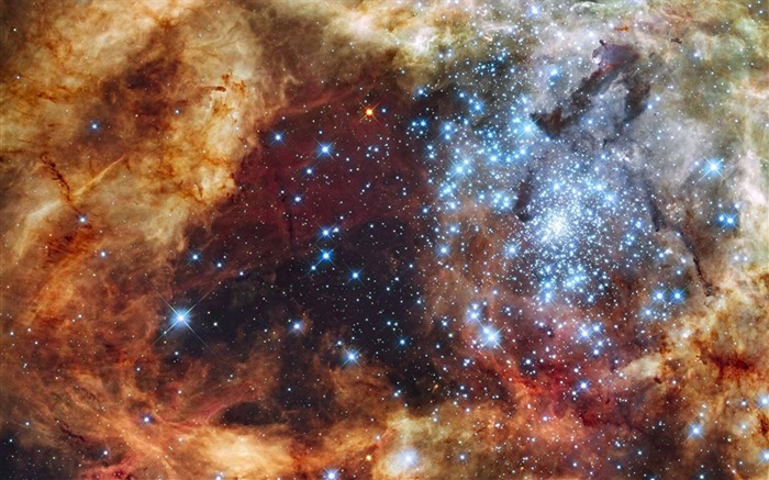 Tarantula Nebula-Universe Desktop Wallpaper Views:1579