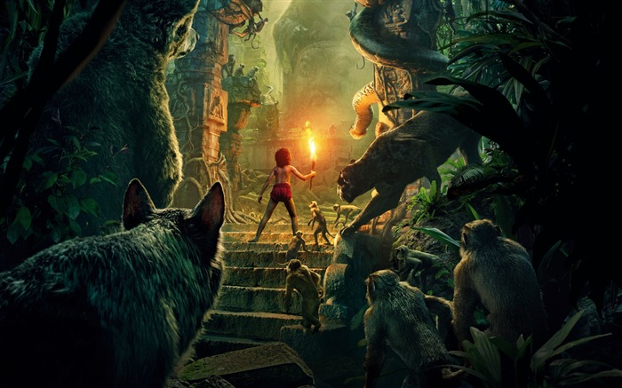 The jungle book 2016-Movie High Quality Wallpaper Views:1369
