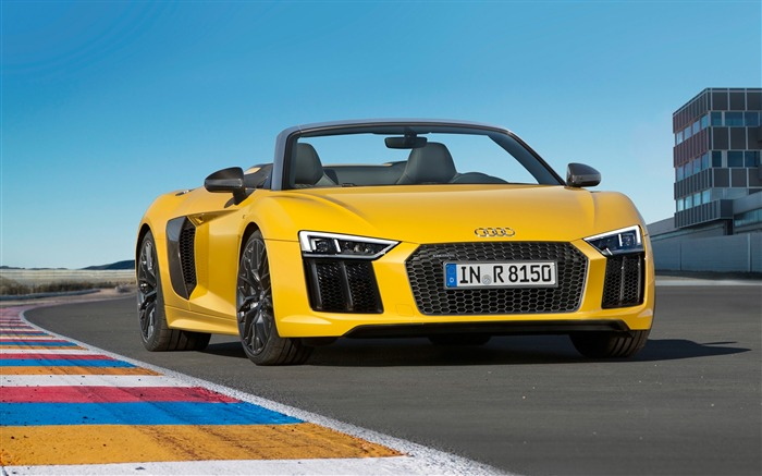 2017 Audi R8 Spyder V10 Auto HD Wallpaper 01 Views:1884