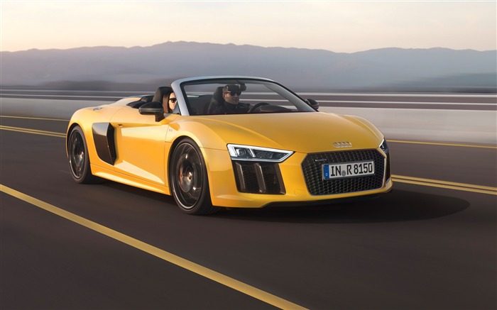2017 Audi R8 Spyder V10 Auto HD Wallpaper 02 Views:1748