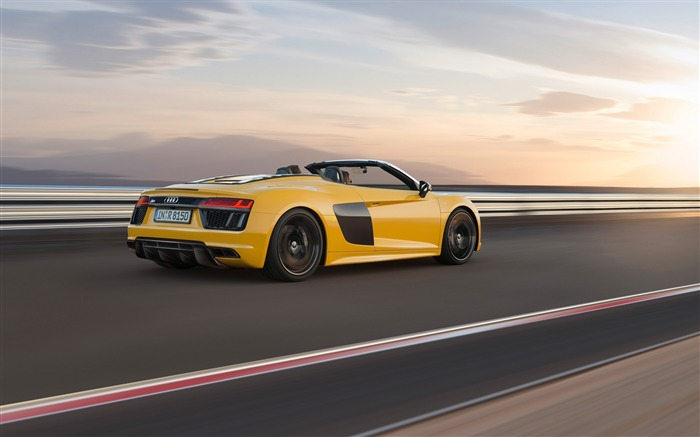 2017 Audi R8 Spyder V10 Auto HD Wallpaper 03 Views:1652