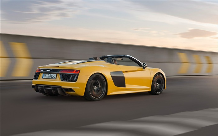 2017 Audi R8 Spyder V10 Auto HD Wallpaper 04 Views:1945