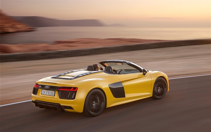 2017 Audi R8 Spyder V10 Auto HD Wallpaper 05 Views:1926